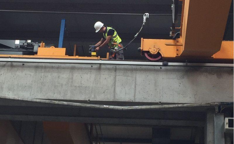Antiarrollamiento de Puente Grúa