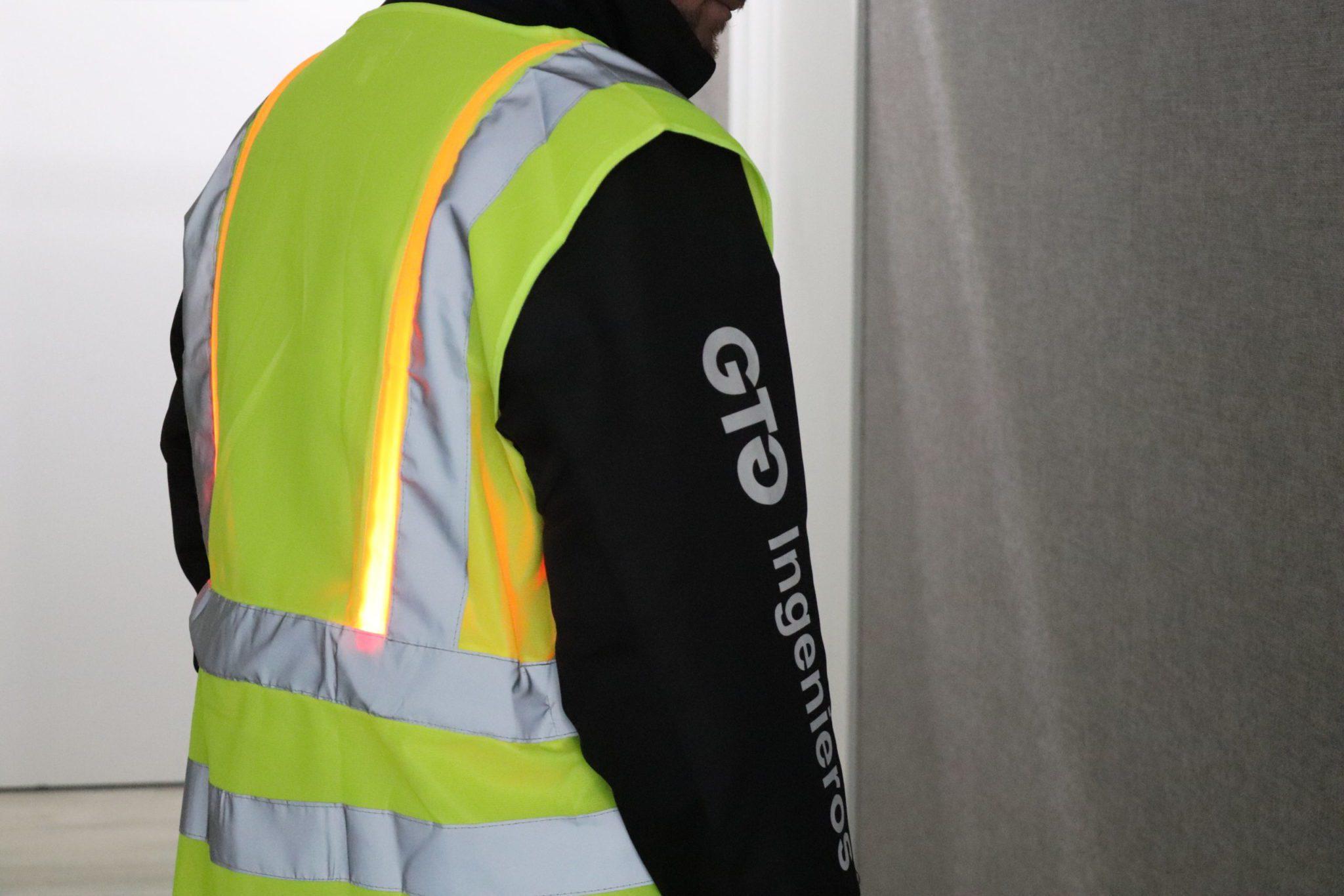 CLAP Chaleco LED de alta visibilidad
