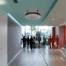 GTG Ingenieros- Ejemplo de equipo de desinfección de aire situado en un pasillo