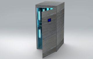 RUViC Cabina desinfección de ropa y complementos