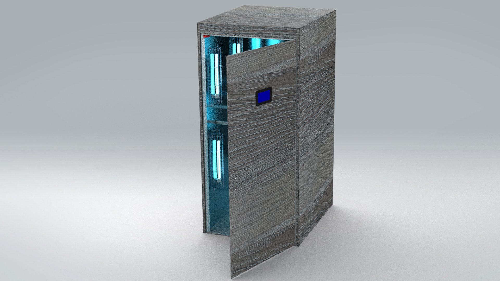 RUViC cabina esterilización de ropa y complementos