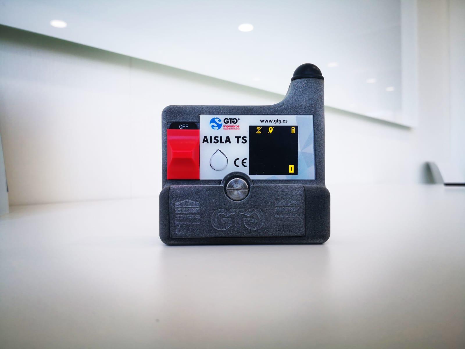 Dispositivo de localización AISLA TS