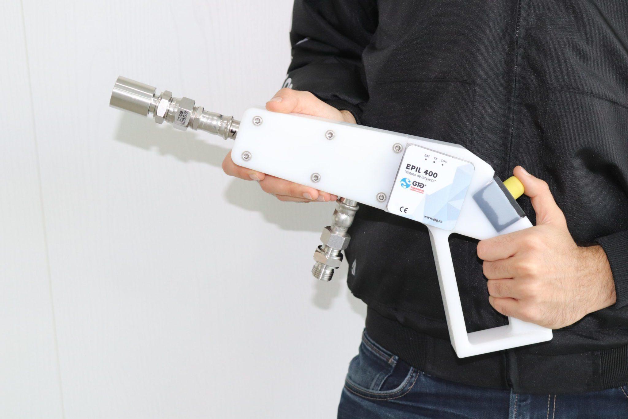 EPIL Pistola de limpieza